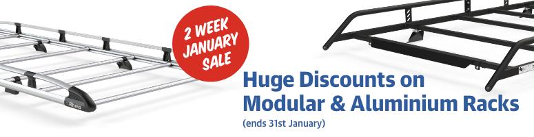 Huge Discounts on Modular & Aluminium Racks