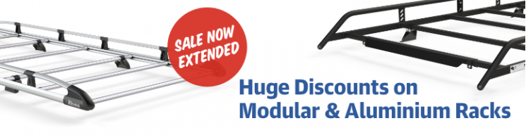 Huge Discounts on Modular & Aluminium Racks