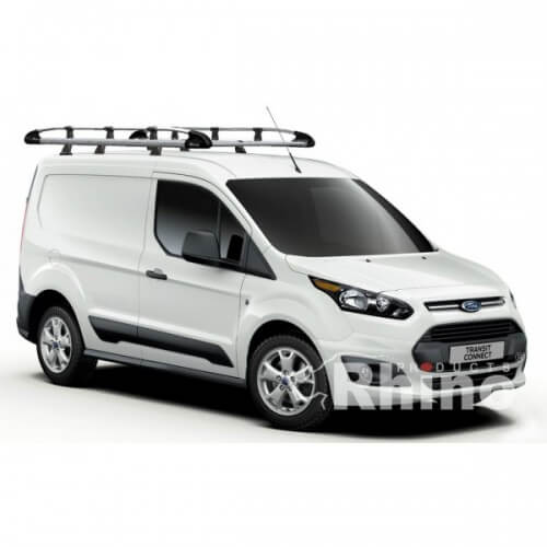 Rhino Aluminium Roof Rack Ford Transit Connect 2014 On
