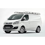 Rhino Modular Roof Rack - Ford Transit Custom 2013 On LWB Twin Doors LWB Low Roof Twin Doors
