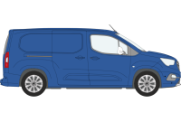 Berlingo 2018 on LWB Twin Rear Doors