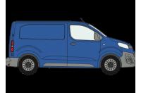 Rhino Roof Racks & Bars for Toyota Proace 2016 on Compact Tailgate