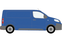 Dispatch 2016 onwards MWB Twin Rear Doors