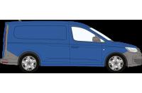 Rhino Roof Racks & Bars for VW Caddy Cargo 2021 on Maxi Twin Doors