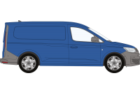 Volkswagen Caddy Cargo 2021 on Maxi Twin Doors