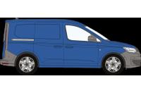 Rhino Roof Racks & Bars for VW Caddy Cargo 2021 on SWB Tailgate