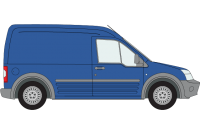 Transit Connect 2002 to 2014 LWB Twin Rear Doors