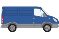 Rhino Roof Racks & Bars for Iveco Daily SWB Low Roof