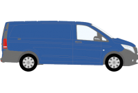 Vito 2015 onwards LWB Low Roof Twin Rear Doors