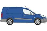 Berlingo 2008 - 2018 LWB Twin Rear Doors