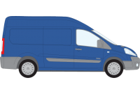 Scudo 2007 to 2016 LWB Low Roof Twin Rear Doors