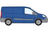 Scudo 2007 to 2016 SWB Low Roof Twin Rear Doors