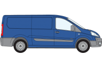 Scudo 2007 to 2016 LWB Low Roof Tailgate