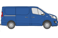 SWB Low Roof Twin Doors H1 L1