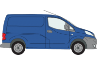 NV200 SWB Twin Rear Doors