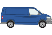 Transporter T5 & T6 SWB Twin Rear Doors