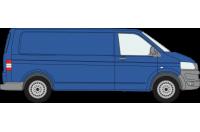 Rhino Roof Racks & Bars for Volkswagen Transporter T5 & T6 - LWB Tailgate