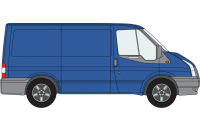 Rhino Roof Racks & Bars for Ford Transit 2000 On SWB Low Roof Twin Doors