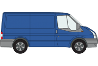 Transit 2000 to 2014 SWB Low Roof Twin Rear Doors