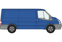 Transit 2000 to 2014 MWB Low Roof Twin Rear Doors