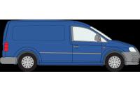 Rhino Roof Racks & Bars for Volkswagen Caddy 2004 - 2010 MAXI Twin Doors