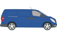Rhino Roof Racks & Bars for Hyundai iLoad Twin Doors