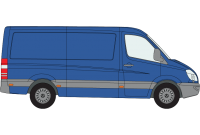 Sprinter 2018 onwards MWB Low Roof