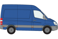 Sprinter 2018 onwards SWB High Roof