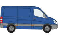 Sprinter 2006 - 2018 SWB Low Roof
