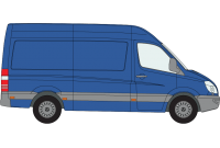 Sprinter 2018 onwards MWB High Roof