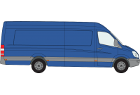 Sprinter 2006 - 2018 XLWB High Roof