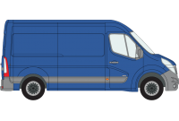 Movano 2010 onwards MWB High Roof