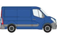 Movano 2010 onwards SWB Low Roof