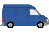 Sprinter 2000 to 2006 SWB High Roof