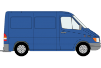 Sprinter 2000 to 2006 SWB Low Roof