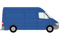 Sprinter 2000 to 2006 MWB High Roof