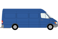 Sprinter 2000 to 2006 LWB High Roof