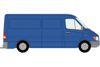 Sprinter 2000 to 2006 MWB Low Roof