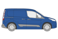 Ford Transit Connect Roof Racks