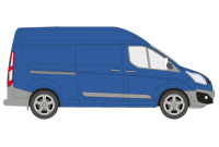 Transit Custom 2013 onwards LWB High Roof Twin Rear Doors