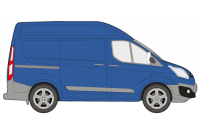 Transit Custom 2013 onwards SWB High Roof Twin Rear Doors