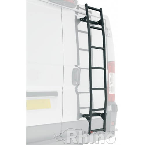 Rhino 7 Step Rear Door Ladder Easy Fit With Pre Cut