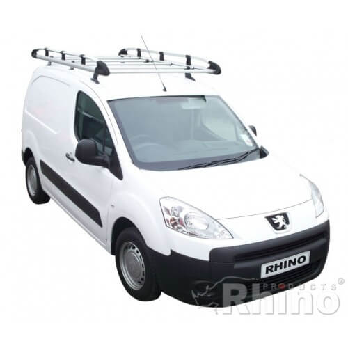 e44bae979096c3 Rhino Aluminium Roof Rack - Citroen Berlingo 2008 - 2018 SWB Twin Doors