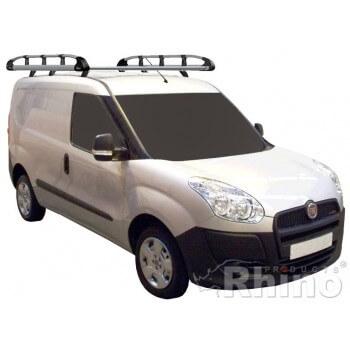 Rhino Aluminium Roof Rack - Vauxhall Combo 2012 - SWB Twin Doors SWB Twin Doors