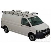Rhino Aluminium Roof Rack - Volkswagen Transporter T5 & T6 - LWB Twin Doors LWB Twin Doors