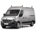 Rhino Delta Roof Bars - Nissan NV400 XLWB High Roof 2 Roof Bars