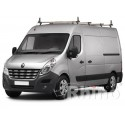 Rhino Delta Roof Bars - Nissan NV400 XLWB High Roof 4 Bars
