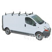 Rhino Delta 4 Bar System - Nissan Primastar LWB High Roof Twin Doors LWB High Roof Twin Doors