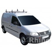 Rhino Delta 4 Bar System - Volkswagen Caddy 2010 On MAXI Tailgate MAXI Tailgate H1 L2