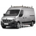 Rhino Delta Roof Bars - Nissan NV400 XLWB High Roof 5 Bars